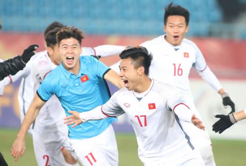 Doanh nghiệp thưởng nóng hàng chục tỷ cho U23 Việt Nam