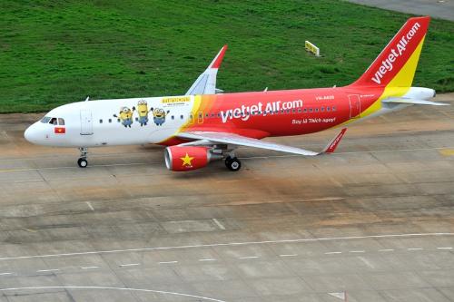 Vietjet từng sơn gì lên thân máy bay?