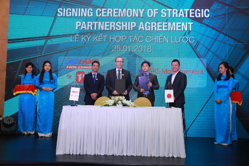 MBLand Holdings ký hợp tác với bảy tập đoàn lớn