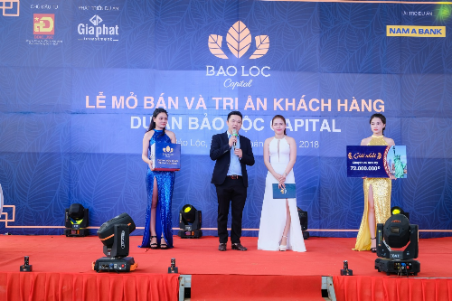 Hơn 300 khách dự lễ mở bán và tri ân dự án Bảo Lộc Capital