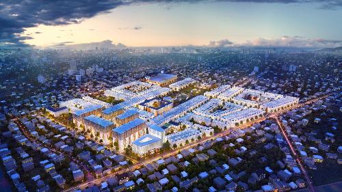 Khu đô thị 6.000 tỷ đồng giới thiệu 300 căn hộ cuối