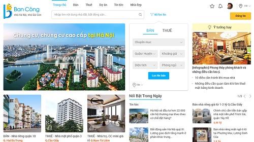 Thêm kênh thông tin trong lĩnh vực bất động sản