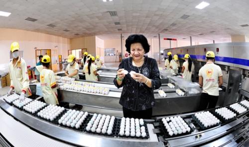 Quỹ ngoại rót 32,5 triệu USD vào trứng gia cầm Ba Huân