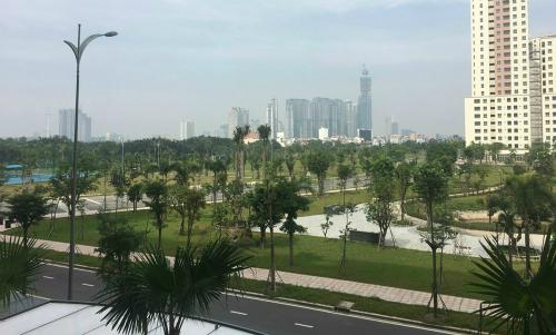 100.000m2 cây xanh tạo không gian trong lành cho New City Thủ Thiêm đã được hoàn thành sẵn sàng đón tiếp cư dân
