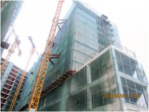 Dự án P.H Complex Nha Trang thi công vượt tiến độ
