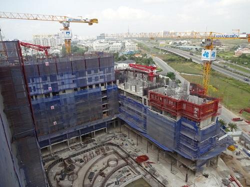 Dự án Jamila quận 9 xây dựng vượt tiến độ