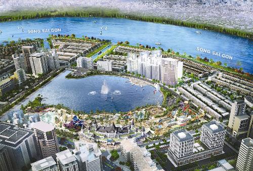 Khu đô thị Vạn Phúc chi 5.000 tỷ phát triển hạ tầng