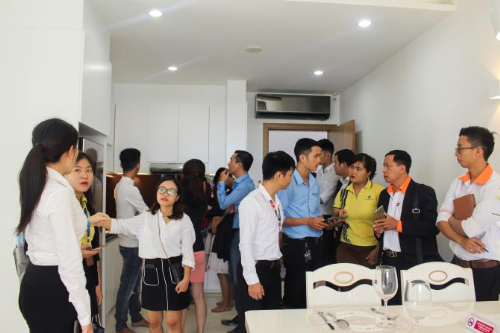 Nhà ở dọc đại lộ Võ Văn Kiệt hút khách dịp đầu năm