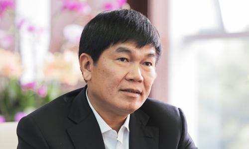 Tỷ phú Trần Đình Long muốn đưa Hoà Phát vào Top 50 thế giới. Ảnh: Anh Tú.