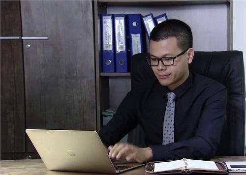 Ông Phạm Xuân Huy - Tổng giám đốc Công ty cổ phần đầu tư điện tử Việt Nam (Vinagroups), đồng sáng lập dự án sàn giao dịch tài sản ảo VNDC.