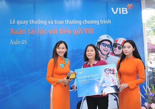 VIB đã tìm ra hơn 600 khách hàng may mắn trúng các giải thưởng lớn.