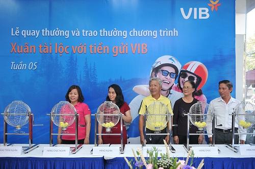VIB đã tìm ra hơn 600 khách hàng may mắn trúng các giải thưởng lớn trong chương trình Xuân tài lộc với tiền gửi VIB.