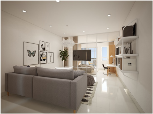 Tặng bộ nội thất gỗ 100 triệu đồng cho khách mua căn hộ Topaz Twins