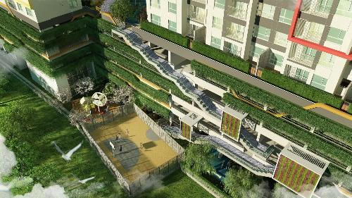 Thiết kế lấy cảm hứng bốn mùa của dự án Seasons Avenue