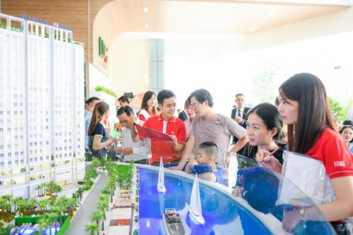 Căn hộ giá 1,1 tỷ đồng ở khu Bắc Sài Gòn thu hút gia đình trẻ