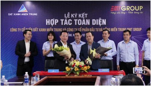 Đất Xanh Miền Trung hợp tác với DMT Group