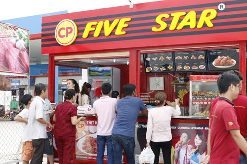 C.P. Việt Nam dự định mở 2.000 cửa hàng thức ăn nhanh
