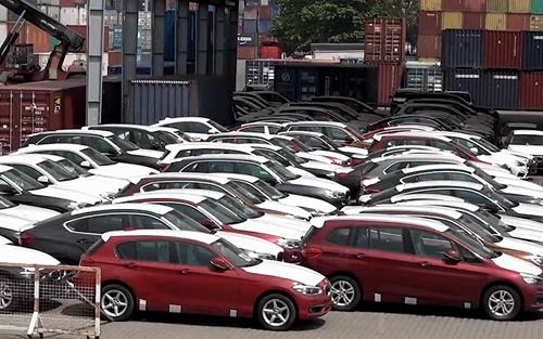 Trung bình gần nửa tỷ đồng một xe con nhập về Việt Nam