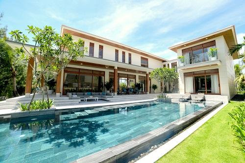the ocean estates da nang ban giao biet thu