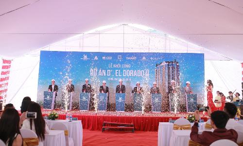 Tân Hoàng Minh khởi công dự án D'. El Dorado II bên Hồ Tây