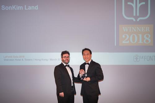 SonKim Land giành giải 'Doanh nghiệp bất động sản của năm'