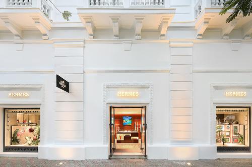 Cửa hàng Hermès tại Khách sạn Metropole Legend, Hà Nội.