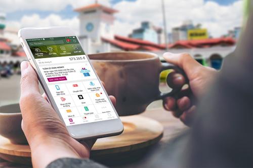 Ứng dụng Ví MoMo hỗ trợ cả nền tảng iOS và Android, đạt hơn 6 triệu người dùng.
