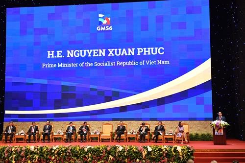 Phiên đối thoại bàn về động lực tăng trưởng mới tại các nước Mekong. Ảnh: Giang Huy
