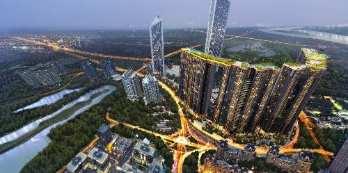 Nhiều dự án lớn triển khai, bất động sảntrục Nhật Tân - Nội Bài hưởng lợi - 2