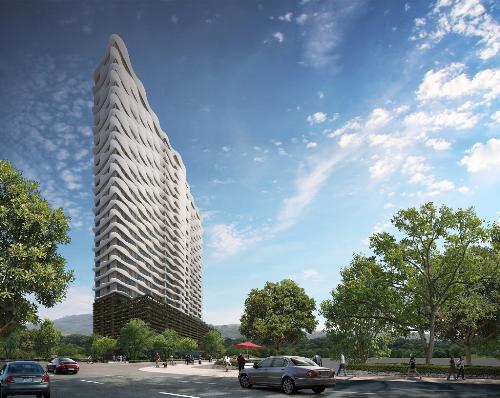 Thiết kế tối ưu khả năng chống cháy ở chung cư cao cấp Waterina Suites