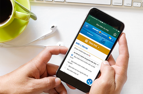 Chỉ mất vài thao tác người tiêu dùng có thể cân nhắc, chọn mua gói bảo hiểm phù hợp trên ứng dụng MoMo để có thể bảo vệ bản thân và gia đình trước những rủi ro.Các bước mua bảo hiểm xe máy trên ứng dụngxem tại đây.