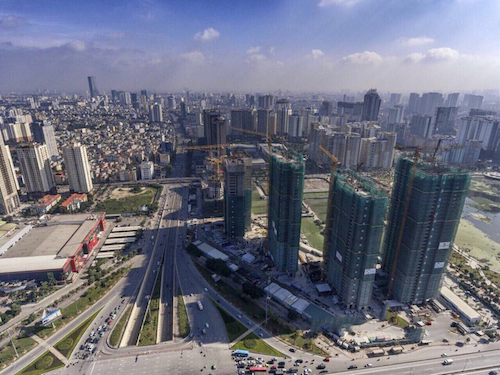 Căn hộ văn phòng SOHO hút khách đầu tư tại Hà Nội