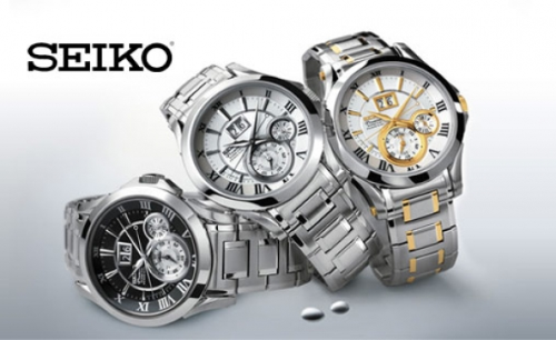 Đồng hồ Seiko được giảm giá đến 49%.