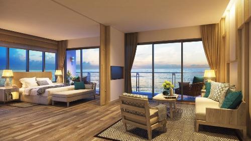 Nét nổi bật của căn hộ khách sạn mặt tiền biển Melia Hồ Tràm