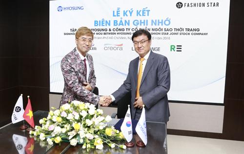 Công ty CP Ngôi Sao Thời Trang (Fashion Star) - đơn vị sở hữu thương hiệu Lime Orange và Tập đoàn Hyosung vừa ký thỏa thuận hợp tác ra mắt dòng áo khoác Air Hoodie nhẹ, đa chức năng.