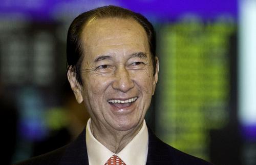 Tỷ phú Stanley Ho. Ảnh: Bloomberg.