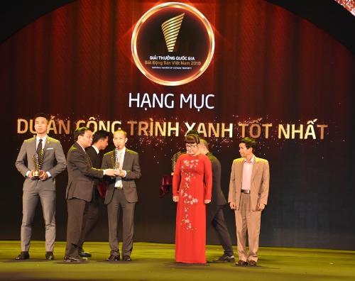 Capital House nhận hai giải thưởng Quốc gia về bất động sản