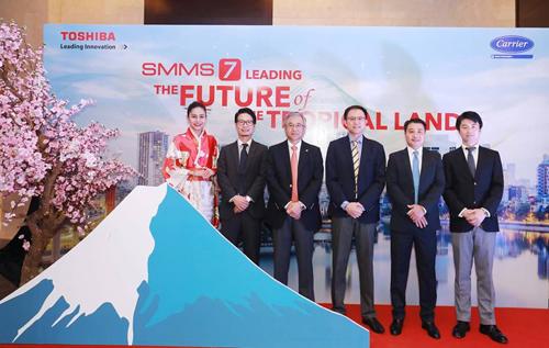 Lãnh đạo của Carrier và Toshiba Carrier Thái Lan.