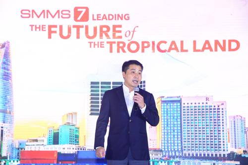 Ông Nguyễn Quốc Hưng  Tổng giám đốc Carrier Việt Nam phát biểu.