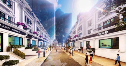 Khu nhà phố thương mại Sunshine City sắp mở bán
