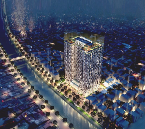 Dự án Riverside Garden - 349 Vũ Tông Phan ra mắt Sky Garden