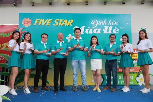 Đỉnh cao mùa hè là một trong những chương trình khuyến mại của thương hiệu gà rán CP Five Star nhằm đẩy mạnh quảng bá sản phẩm.