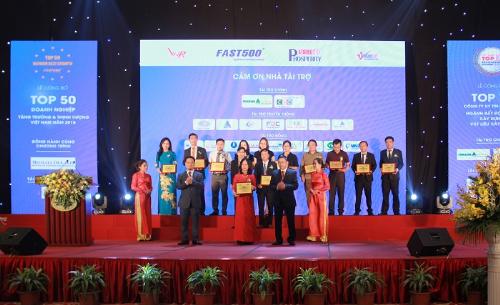 Bảo hiểm VietinBank vào xếp hạng Fast500 của Vietnam Report