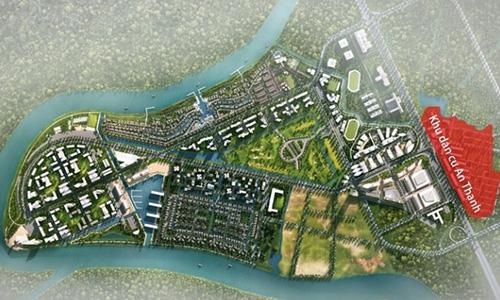 Đại gia địa ốc Sài Gòn tiến về Long An với siêu dự án 355 ha