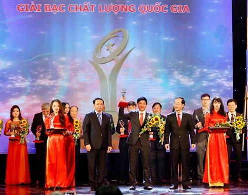 Xuân Hòa đạt doanh nghiệp 'Chất lượng Quốc gia'
