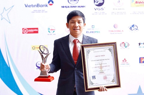 Ông Lê Duy Anh - Tổng giám đốc Công ty Cổ phần Xuân Hòa Việt Nam