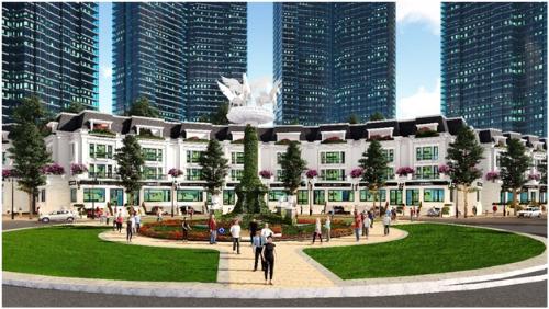 Nhà phố thương mại Sunshine City thu hút nhà đầu tư