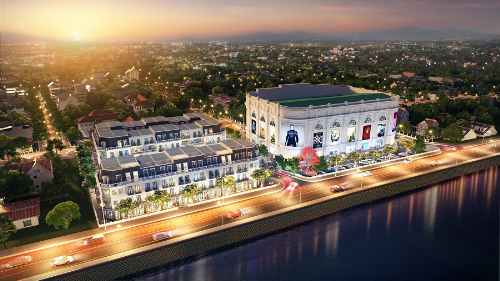 Vingroup ra mắt 30 căn shophouse bên bờ sông Đà