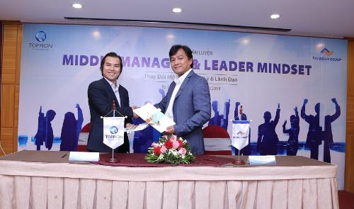 Thắng Lợi Group bắt tay tập đoàn Toppion nâng cao năng lực quản lý và lãnh đạo