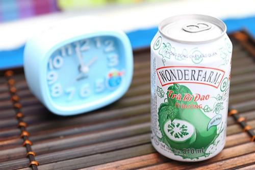 Trà bí đao Wonderfarm là dòng sản phẩm chủ lực của IFS.